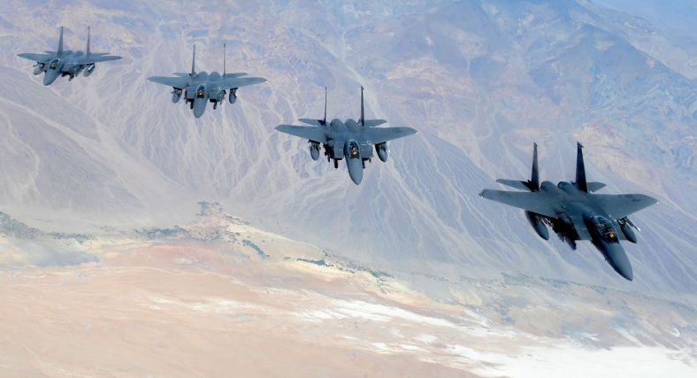 F-15 Fighter Jets