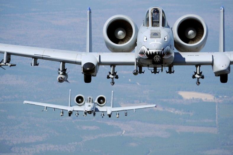 A-10 Fighter Jet