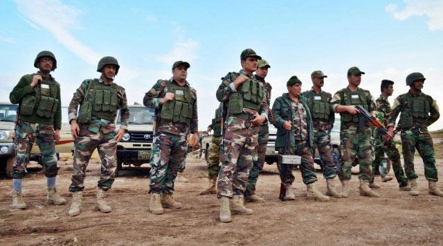 Syrian Kurdish Fighters