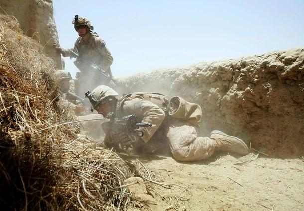 Marines pinned down