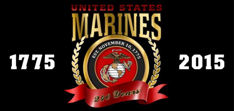 USMC 240 Birthday