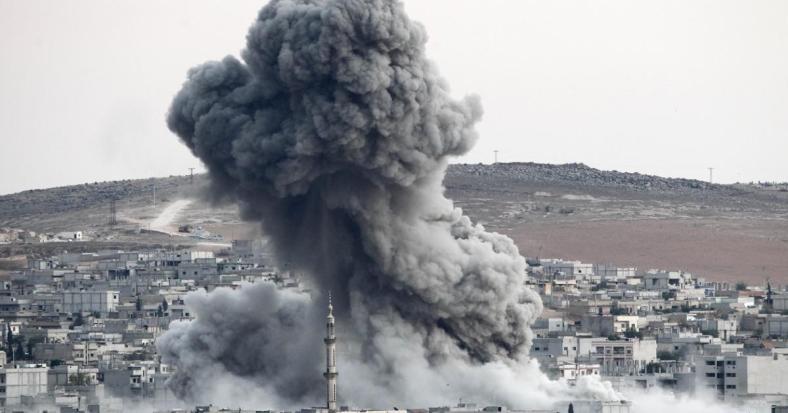 Russian air strike Syria