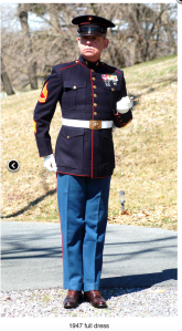 Dress Blues WWII
